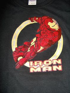 IRON MAN: Hand painted design