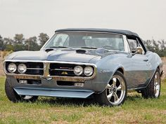 1967 Firebird Ram Air Convertible