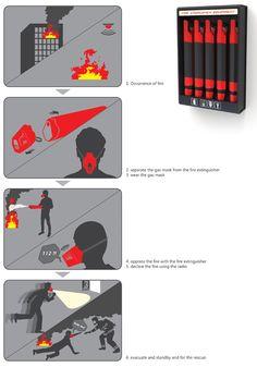 All-in-one Fire Fighting | Yanko Design