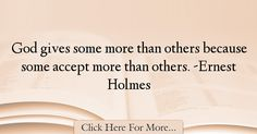 Ernest Holmes Quotes About God - 28491
