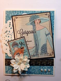 Couture Card - Barbara Lamble