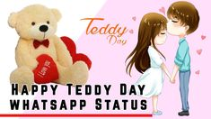 ❤ Teddy Day Shayari ❤ | Happy Teddy Day whatsapp Status | Valentine week... Teddy Day, Valentine Special, Are You Happy, I Love You, Youtube, Movie Posters, Te Amo, Je T'aime, Film Poster