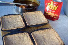 Snickerskake - noe av det beste jeg vet! | Gladkokken Sheet Pan, Food And Drink, Caramel, Springform Pan