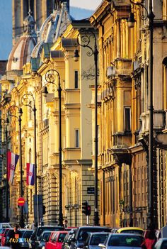 """Zagreb, Croatia.Our hotel was located 1 mile from the center. It's name """"Ilica"""""""