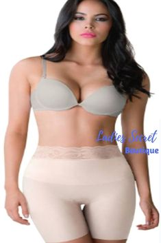 08ae2f0627787 Faja Colombiana Romanza 2054 High Waisted Short Super Comfy Light  Tummy-Control  LetItGlow