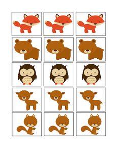Boberkowy World : Zwierzęta leśne- konspekt zajęć w przedszkolu + pliki do pobrania Memory Games, Busy Bags, 1st Boy Birthday, Forest Animals, Free Printables, Homeschool, Memories, Learning, Pictures