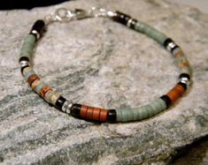 Natural Turquoise Bracelet Native American Jewelry от BraidedSouls