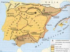 Fases colonización romana