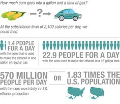 Does Your Gas Tank Hold Enough Food To Feed 22 People?