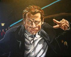 vincent vega, ilustracion Pulp Fiction Art, Joker, Fictional Characters, The Joker, Fantasy Characters, Jokers, Comedians