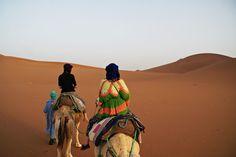 Å sove under åpen himmel i Sahara ørkenen - Norske reiseblogger