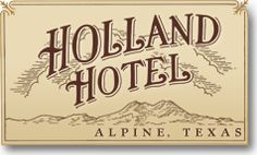 The Holland Hotel in Alpine, TX is located near Big Bend National Park, McDonald Observatory, & Marfa, offering guests plenty of things to do. Big Bend Tx, Holland Hotel, Alpine Texas, Texas History, West Texas, Texas Travel, Le Far West, Comfort Style, In The Heart