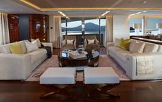 The Luxury Yacht Interior of the Princess yacht  4