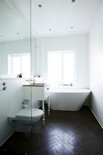 not the big things: Bathroom Inspiration