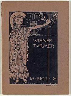 Oskar Strnad :  Wiener Türmer. Ein Almanach auf das Jahr 1904, Zur Feier seines 25jährigen Bestandes (Untertitel) Glass Art, Design, Celebration