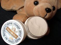 Glamandise: Crème visage pour Petit Chou au benjoin.