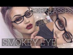 Smokey Eye Tutorial for Glasses Wearers // Jamie Genevieve - YouTube