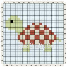 TORTOISE 25 X 25
