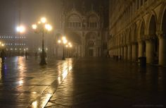 Venecia nocturna, San Marcos