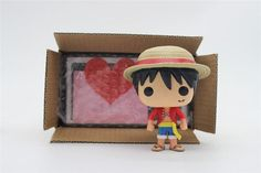 Chanycore Funko Pop Mini One Piece Anime Luffy Chopper Ace Law Vinyl Pvc Collection Action Figure Model Pvc Kids Toys With Box