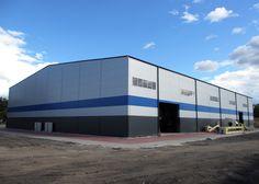 Pellet production facility. Learn more about this project: http://www.piche.eu/en/projects/pellet-production-building
