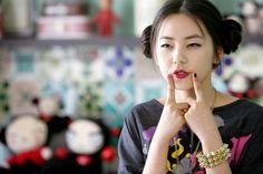 Корейские прически для девушек