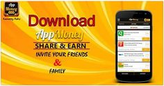 Download #AppMoney share & earn invite your friends & family Our Free Mobile App #AppMoney. #AppMoneyOffers #ReferAppMoney Download & Install Here: http://bit.ly/1C8FPEc
