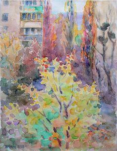 Ніна Марценюк (Київ) - сучасний живопис: акварель, пейзаж