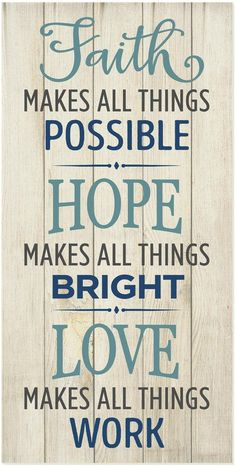 Love Makes All Things Possible.. printed wood sign. This says it all! Beautifully made for modern, farmhouse or rustic home decor. |#ad #farmhouse #homedecor #woodsigns