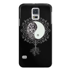 Samsung Galaxy / LG / HTC / Nexus Phone Case - Yin floral Yang ($40) ❤ liked on Polyvore featuring accessories, tech accessories and android case