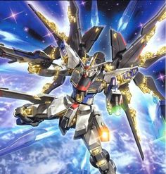 Strike Freedom Gundam.