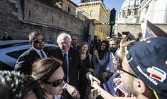 Bernie Sanders called Pope Francis a 'visionary' and praised his efforts to create a 'moral economy' during his visit to the Vatican on Friday