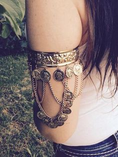 Bohemian Arm Cuff, Upper Arm Band, Bohemian Arm band