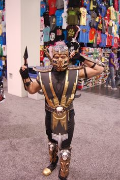 GET OVER HERE! And let us take a picture of your awesome Scorpion cosplay. #Wondercon