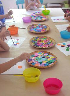 art activity using shapes