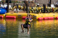 A Boy Rides the ACE Lake Zip Line by ACE Adventure Resort1, via Flickr