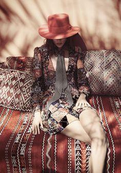 Freja Beha Erichsen by Glen Luchford for Vogue UK June 2015 9