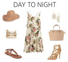 """""""Day to Night"""" by nordwoodlandstrend on Polyvore featuring VILA, Apt. 9, Dorothy Perkins, Michael Kors, Panacea and BP."""