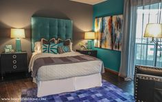 FINALLY a way express my vibrant personality. Like I said: I. Love. #Teal. #Insidestyle #InteriorDesign #Design #DTLV #Vegas @TurnberryTowers #TurnberryTowers