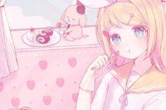Wallpapers Search: pink anime - WallpaperAccess 2560x1440 Wallpaper, Cake Images, Image Sharing, Pastel Pink, Vocaloid, Art Girl, Cute Girls, Fan Art, Manga