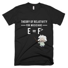21.95$️ Everything is relative (Albert Einstein).️ Spread the theory of relativity for musicians!