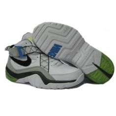 best sneakers f3b66 c07e1 Nike Zoom Sharkalaid Basketball Shoes White Grey lime
