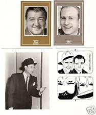 Abbott y Costello CARDS!  Colección de la tarjeta única