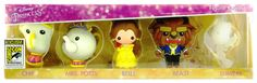 Monogram today shared details on their latest SDCC exclusive, a set of foam keychains from Disney's Beauty & the Beast. Characters included in this set are Chip, Mrs. Potts, Belle, the Beast and a translucent Lumiere who is exclusive to this set.  This set is limited to 300 pieces and is priced at $40. This and all of Monogram's exclusives will be available at booth #3645.