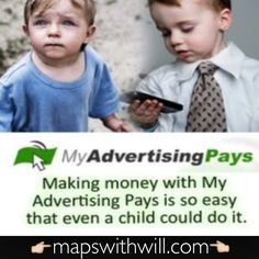 This is as easy as it gets! Click 10 adverts a day and get paid profit share 24/7/365! :) www.mapswithwill.com