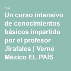 Un curso intensivo de conocimientos básicos impartido por el profesor Jirafales | Verne México EL PAÍS