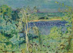 Pierre Bonnard, La Seine à Vernon, or La Risée Sur La Rivière, 1927, oil on canevas, 50.1 x 68.2 cm