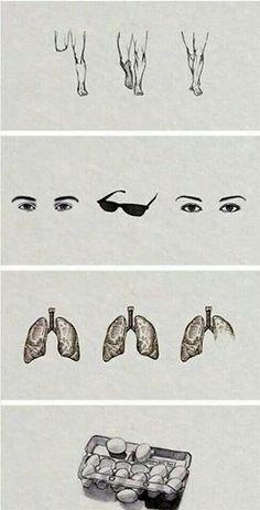 5 pernas, 4 olhos e 2 pares de pulmão e meio