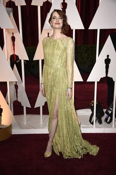 Emma Stone Photos: Arrivals at the 87th Annual Academy Awards — Part 3
