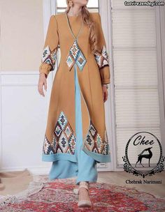 Street Hijab Fashion, Boho Fashion, Fashion Dresses, Iranian Women Fashion, Muslim Fashion, Edwardian Dress, Pakistani Dress Design, Special Dresses, Mode Hijab